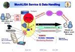 monalisa service data handling
