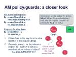 am policy guards a closer look