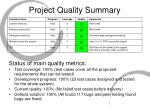 project quality summary1