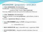 organizare propuneri 14 xi 2013
