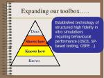 expanding our toolbox1