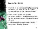 geometric sense1