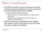 what is covered con t1