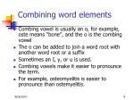 combining word elements1