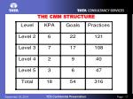 the cmm structure