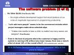 the software problem 2 of 2