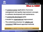 what is cmm1