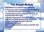 the aircast module