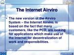 the internet airviro
