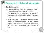process ii network analysis1
