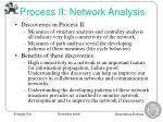 process ii network analysis19