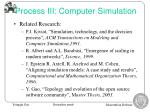 process iii computer simulation