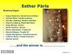 esther p rla