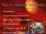 marte planeta vermelho