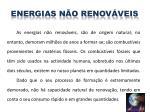 energias n o renov veis