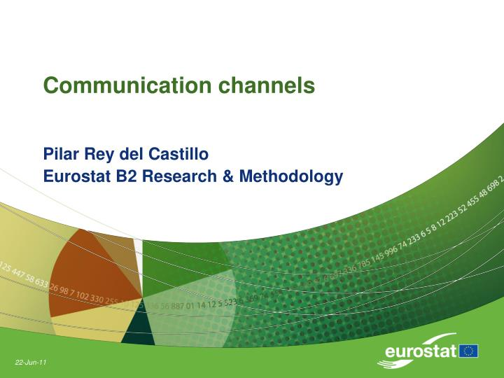communication channels n.