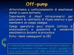 off pump