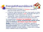energiafelhaszn l sunk