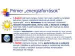 primer energiaforr sok