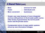a shared vision cont