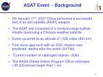 asat event background