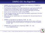 dimro gs the algorithm