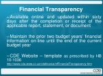 financial transparency3