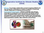 cooperative institute for climate studies cics