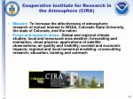 cooperative institute for research in the atmosphere cira