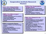 cooperative institute research themes
