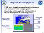 integrated observing systems