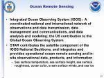 ocean remote sensing