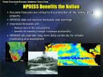 npoess benefits the nation