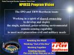 npoess program vision
