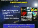 npoess requirements