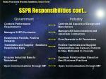 sspr responsibilities cont