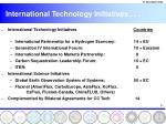 international technology initiatives