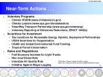 near term actions