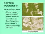 examples deforestation