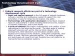 technology development cycle