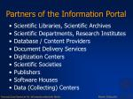 partners of the information portal