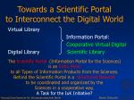 towards a scientific portal to interconnect the digital world