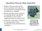 quicksurf density map algorithm