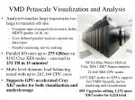 vmd petascale visualization and analysis