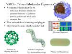 vmd visual molecular dynamics