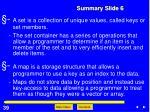 summary slide 6