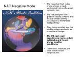 nao negative mode
