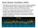 north atlantic oscillation nao