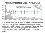 tropical atmosphere ocean array tao