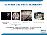 satellites and space exploration